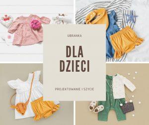 szwalnia odzieży dziecięcej